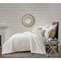Bee & Willow™ Home Matelassé Geometric Full/Queen Comforter Set in Coconut Milk