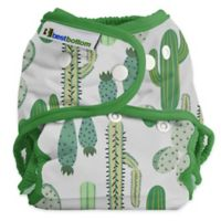 Best Bottom Cloth Diaper Cover Shell in Prickly Cactus