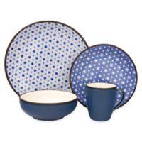 Sango Celestial 16-Piece Dinnerware Set in Blue