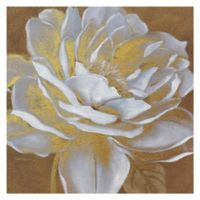 Masterpiece Art Gallery Golden Bloom I 24-Inch x 24-Inch Canvas Wall Art