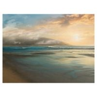 Masterpiece Art Gallery Island Mist 30-Inch x 40-Inch Canvas Wall Art