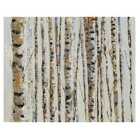 Masterpiece Art Gallery Birch Bling 28-Inch x 22-Inch Canvas Wall Art