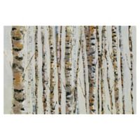 Masterpiece Art Gallery Birch Bling 36-Inch x 24-Inch Canvas Wall Art