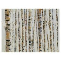 Masterpiece Art Gallery Birch Bling 40-Inch x 30-Inch Canvas Wall Art