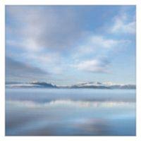 Masterpiece Art Gallery Mirrored Sunrise 24-Inch x 24-Inch Canvas Wall Art