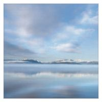 Masterpiece Art Gallery Mirrored Sunrise 30-Inch x 30-Inch Canvas Wall Art