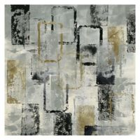 Masterpiece Art Gallery Mixed Metals 24-Inch Square Canvas Wall Art