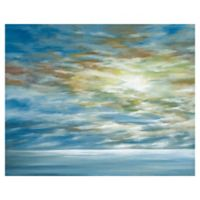 Masterpiece Art Gallery Coastal Landscape 22-Inch x 28-Inch Canvas Wall Art