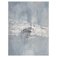 Masterpiece Art Gallery Misty Blue Haze II 40-Inch x 30-Inch Canvas Wall Art