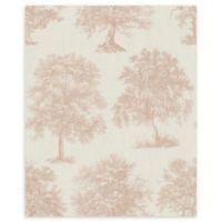 Graham & Brown Enchanted Tree Wallpaper in Rose Gold