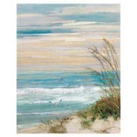 Masterpiece Art Gallery Beach at Dusk 28-Inch x 22-Inch Canvas Wall Art