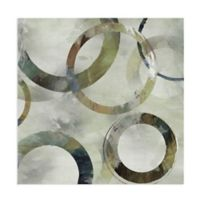 Masterpiece Art Gallery Rings Galore Spring II 24-Inch Square Canvas Wall Art