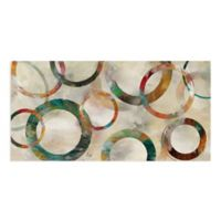 Masterpiece Art Gallery Rings Galore 34-Inch x 17-Inch Canvas Wall Art