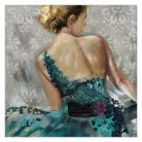 Masterpiece Art Gallery Elegance I by Frank Parson 24-Inch x 24-Inch Canvas Wall Art