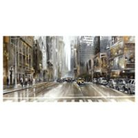 Masterpiece Art Gallery Rush Hour Panel 27-Inch x 54-Inch Canvas Wall Art