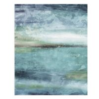 Masterpiece Art Gallery Blue Lagoon Light 28-Inch x 22-Inch Canvas Wall Art