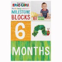 Chronicle Books The Very Hungry Caterpillar Milestone Blocks