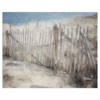 Masterpiece Art Gallery Beach Melody Soft 28-Inch x 22-Inch Canvas Wall Art