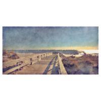 Masterpiece Art Gallery Boardwalk I -Inch x -Inch Canvas Wall Art
