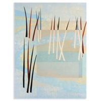 Masterpiece Art Gallery Reeds 28-Inch x 22-Inch Canvas Wall Art
