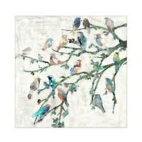 Masterpiece Art Gallery Wings of Spring I 20-Inch Square Canvas Wall Art