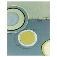Masterpiece Art Gallery Circle Series XIII 28-Inch x 22-Inch Canvas Wall Art