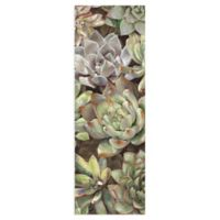 Masterpiece Art Gallery Desert Garden Panel I 36-Inch x 12-Inch Canvas Wall Art
