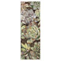 Masterpiece Art Gallery Desert Garden Panel I 48-Inch x 16-Inch Canvas Wall Art