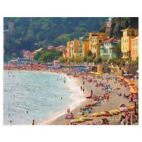 Masterpiece Art Gallery Coastal Italia I 28-Inch x 22-Inch Canvas Wall Art