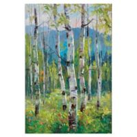 Masterpiece Art Gallery Spring Greens 36-Inch x 24-Inch Canvas Wall Art
