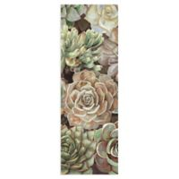 Masterpiece Art Gallery Desert Garden Panel II 48-Inch x 16-Inch Canvas Wall Art