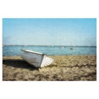 Masterpiece Art Gallery Row Boat 36-Inch x 24-Inch Canvas Wall Art