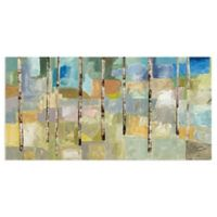 Masterpiece Art Gallery Aspen Trees V 48-Inch x 24-Inch Canvas Wall Art