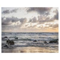 Masterpiece Art Gallery Coronado Ocean 28-Inch x 22-Inch Canvas Wall Art