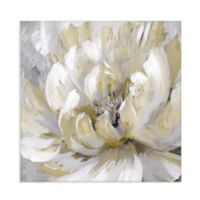 Masterpiece Art Gallery Burst of Spring Gold 30-Inch Square Canvas Wall Art