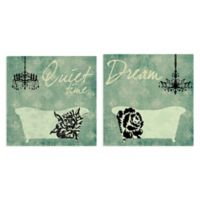 Masterpiece Art Gallery Dream & Quiet Time 12-Inch Square Canvas Wall Art
