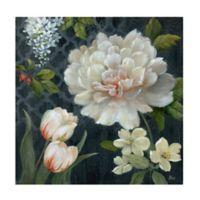 Nan Midnight Garden II 24-Inch x 24-Inch Wrapped Canvas Wall Art