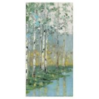 Sally Swatland Birch Reflections III 17-Inch x 34-Inch Canvas Wall Art