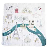 Loulou Lollipop Paris Muslin Swaddle Blanket