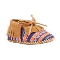 Lamo® Size 9-12M Fringe Baby Moc in Chestnut