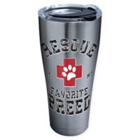 "Tervis® ""Rescue Is My Favorite Breed"" 30 oz. Stainless Steel Tumbler with Lid"