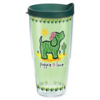 Tervis® Puppy Love Canvas 24 oz. Wrap Tumbler with Lid