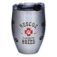 "Tervis® ""Rescue Is My Favorite Breed"" Stainless Steel Stemless Wine Glass"