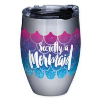 Tervis® Mermaid Tail 12 oz. Stainless Steel Stemless Wine Glass with Lid