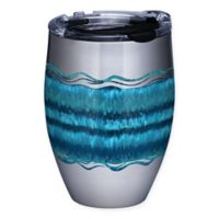 Tervis® Ocean Waves 12 oz. Stainless Steel Stemless Wine Glass with Lid