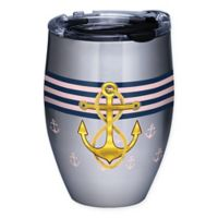 Tervis® Gold Anchor 12 oz. Stainless Steel Stemless Wind Glass with Lid