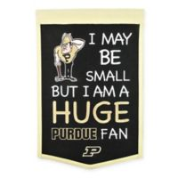 Purdue University Lil Fan Traditions Banner