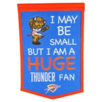 NBA Oklahoma City Thunder Lil Fan Traditions Banner