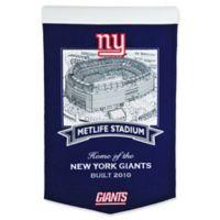 NFL New York Giants Stadium Banner