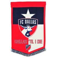 MLS FC Dallas Traditions Banner